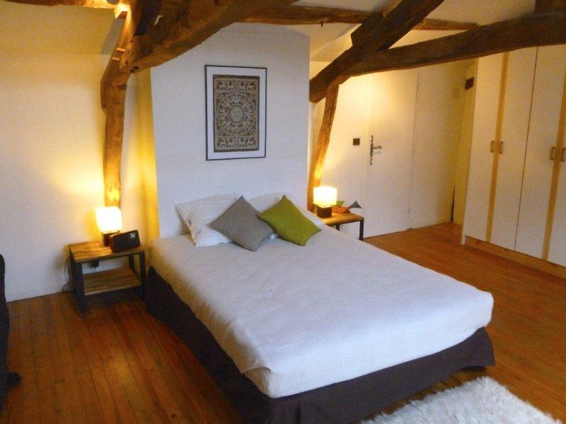 Superbe maison de campagne proche de Marciac, Gers | Chambre 1 - lit 140