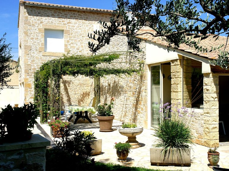 'The Carbet', furnished nine ***, air conditioning, swimming pool, private park, vacation rental in Uzes
