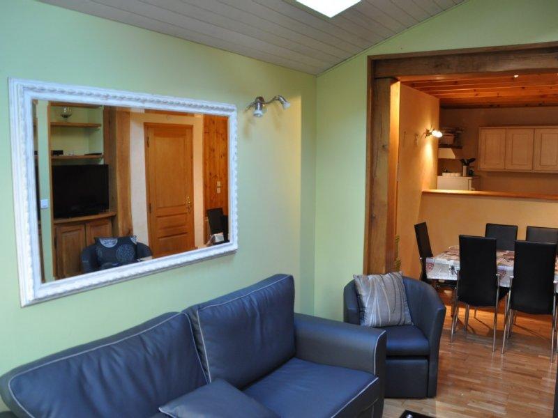 Maison de pêcheur 'Les Alizés' Etretat à 300 mètres de la plage, vacation rental in Etretat