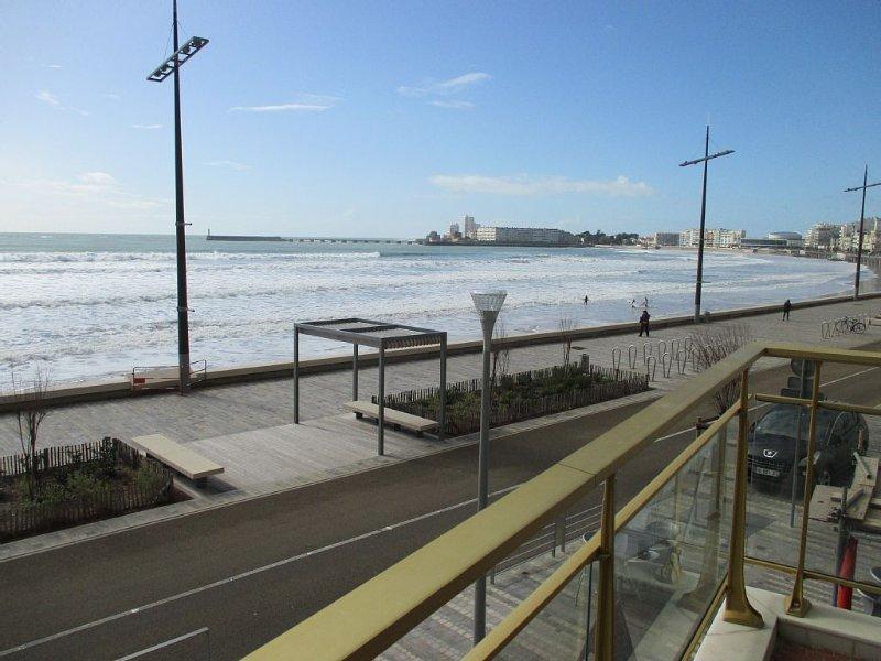 Appartement de standing T3/T4. Situé au centre de la grande plage., alquiler de vacaciones en Les Sables-d'Olonne