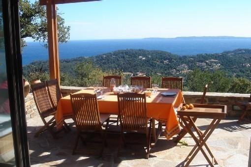 Villa domaine privé du Gaou-Bénat (var) belle vue mer - 4 ch. 4 salles d'eau, location de vacances à Cap Benat