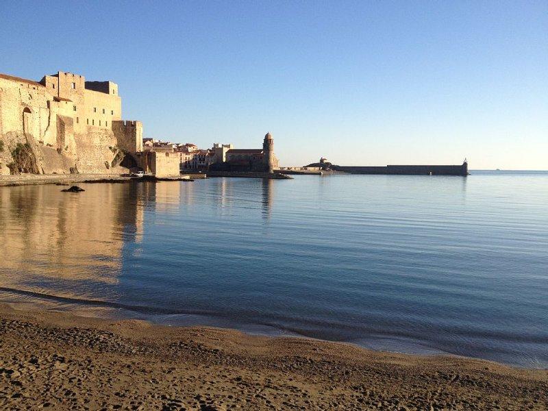 La baie de Collioure vue du Faubourg