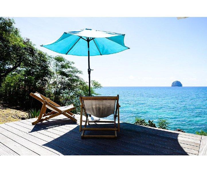 La Villa Diamant - Le standing les pieds dans l'eau - Pte La Cherry, holiday rental in Arrondissement of Le Marin