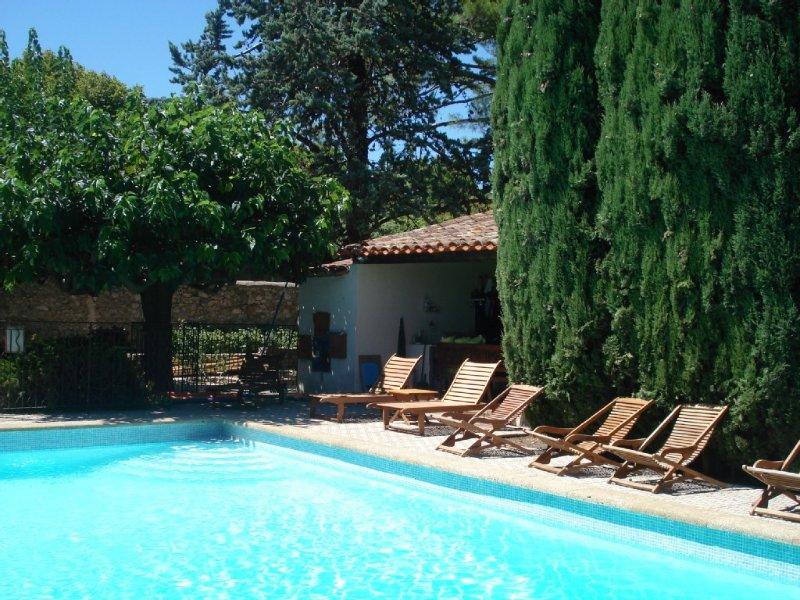 Grande Propriété  de caractère  privatisée pour 16 Couchage et +, location de vacances à Neffiès