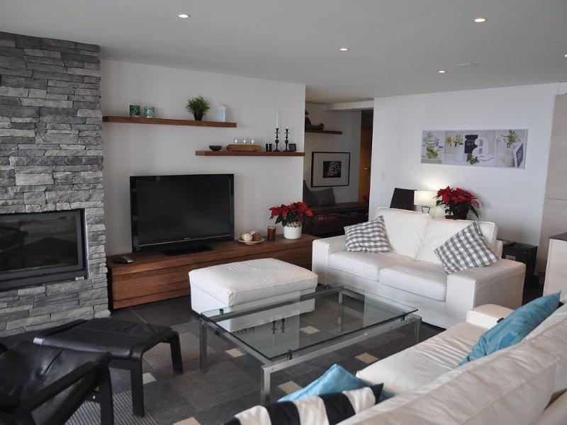Appartement confortable aux agencements très modernes