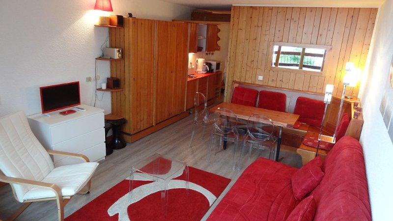 Duplex 5 Couchages,Les ARCS 1600, PLEIN SUD VUE IMPRENABLE, holiday rental in Les Arcs