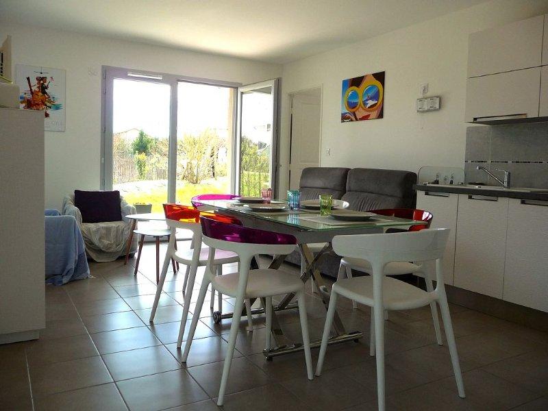 La Baule et ses environs location appartement 3 pieces avec jardin privatif, casa vacanza a Guerande