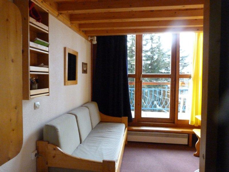 Arcs 1800, Résidence ARCHEBOC. Studio-duplex 6 Personnes, holiday rental in Les Arcs