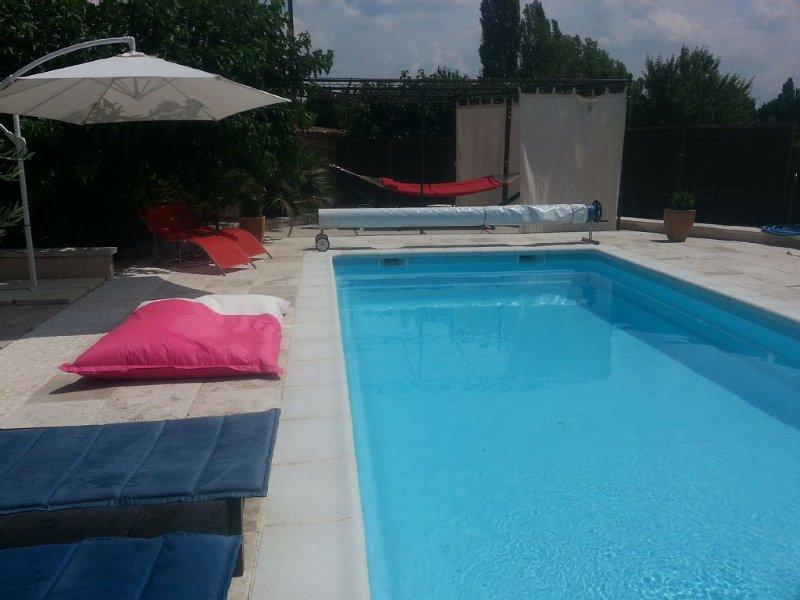 Villa d'architecte prestations haut de gamme avec piscine 9x4 privative, location de vacances à Sillans-la-Cascade