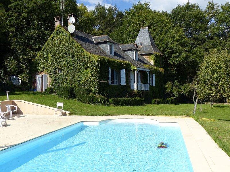 Maison de caractère dans l'Aveyron aux portes de Conques, location de vacances à Cransac