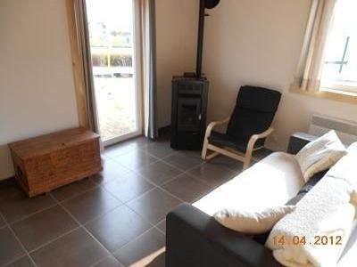 Salon avec canapé clic-clac (2 couchettes)