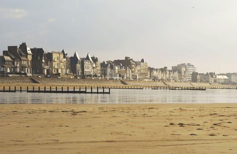 Saint Malo Plage du sillon
