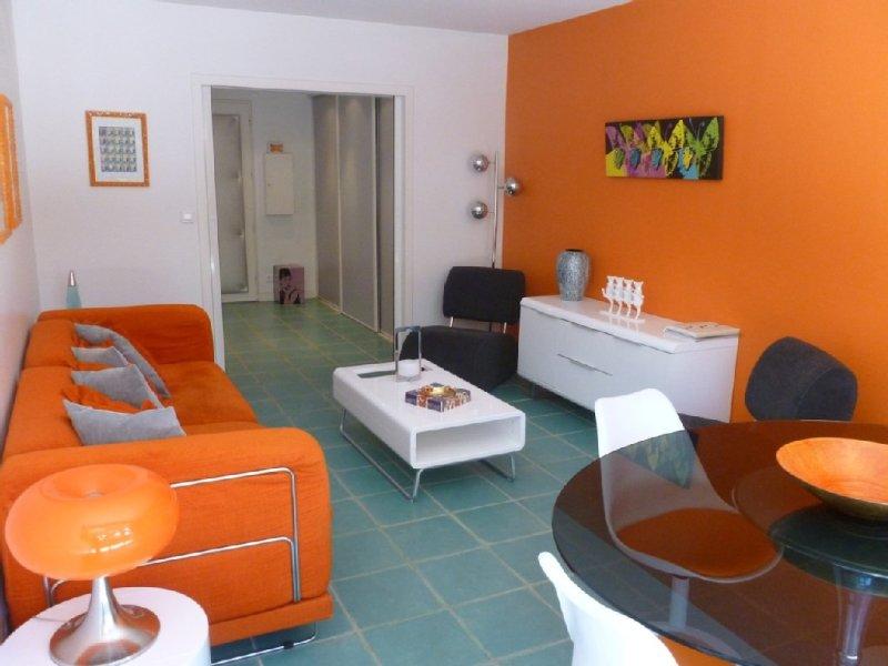 Appartement Pop avec terrasses et jardin. La Baule Centre et la plage à 2 pas !, holiday rental in Loire-Atlantique