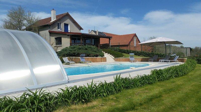 Maison a Fresselines avec piscine privée, holiday rental in Lourdoueix Saint Pierre