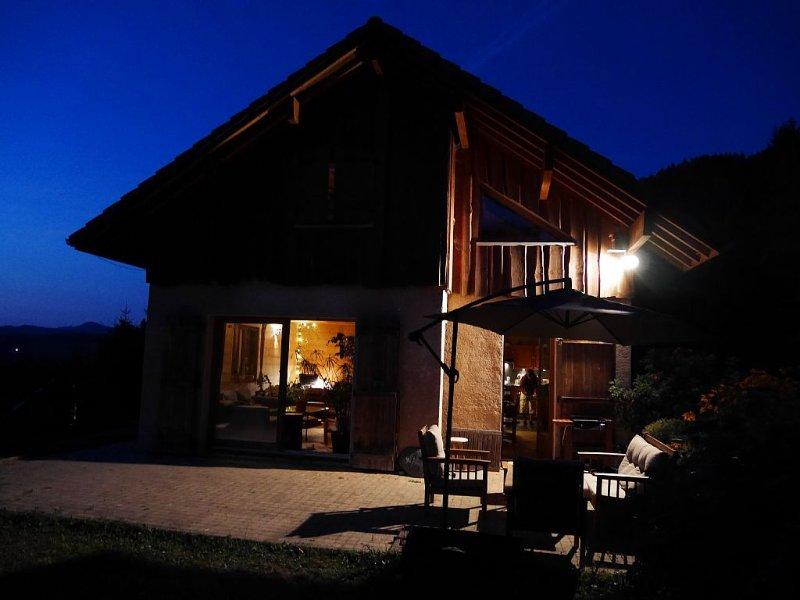 Grand chalet tout confort au calme, holiday rental in Sainte-Agnes