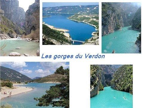 Les Gorges Du Verdon à 26 km de Moissac-Bellevue.