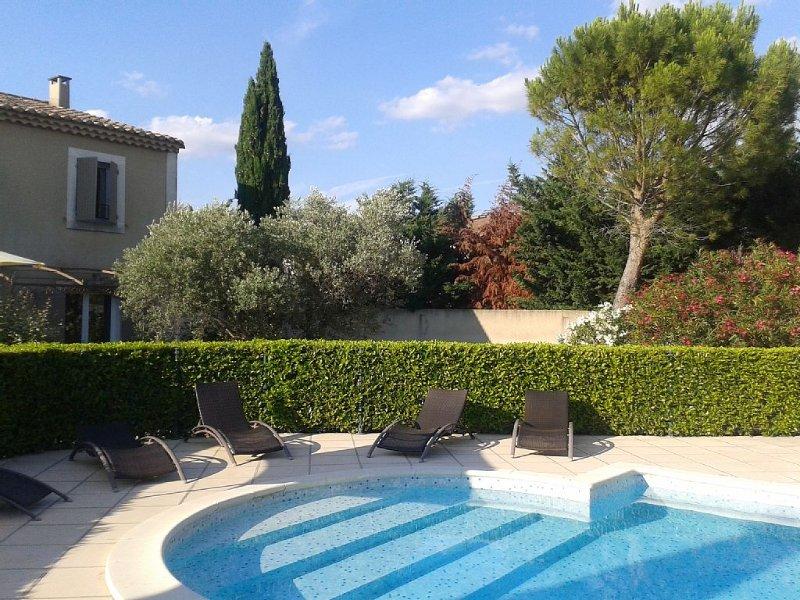 La bastide des jardins d'arcadie classé 4 étoiles au meublé de tourisme, Ferienwohnung in St-Rémy-de-Provence