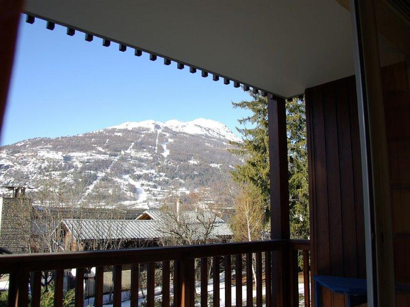Appart lumineux 59 m² Balcon belle vue  Prorel, Briançon Serre Chevalier 1200, holiday rental in Briançon