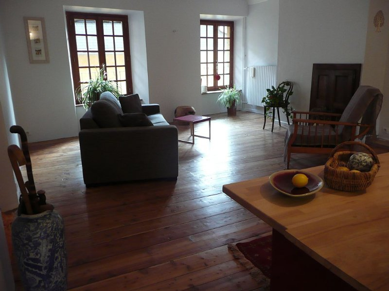 VASTE APPARTEMENT T2 DE 70m2 AVEC TRES BELLE VUE SUR LA VALLEE, holiday rental in Briançon