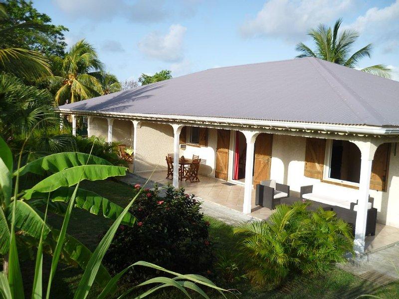 location gite Guadeloupe, séjour en Guadeloupe. Ti-Soleil