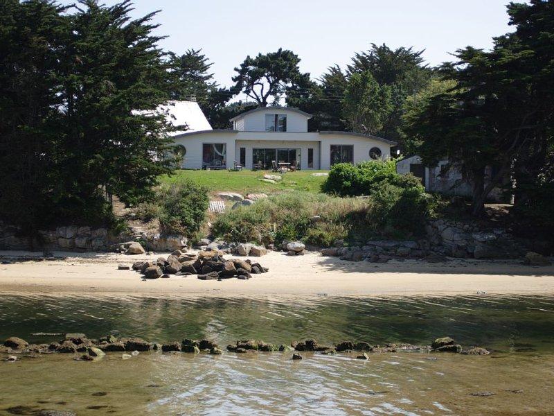 Les Sablettes, 8 personnes, pieds dans l'eau, casa vacanza a Pleumeur Bodou