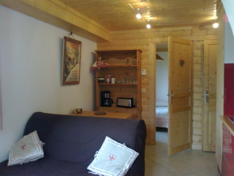 Mont Blanc: Nid Douillet small 2 to 4p in Chalet in Saint Gervais, holiday rental in Saint-Gervais-les-Bains