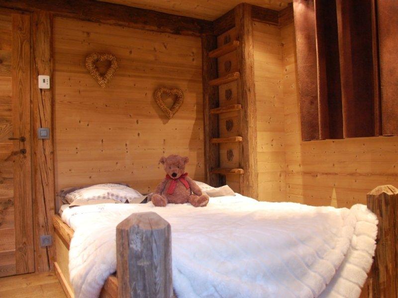 Appartement de charme centre ville de Megève, location de vacances à Haute-Savoie