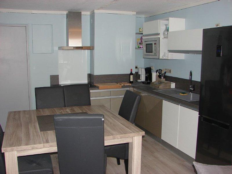 appart très spacieux et confortable 50 m2  vue sur piste plein sud avec balcon, holiday rental in Les Coches