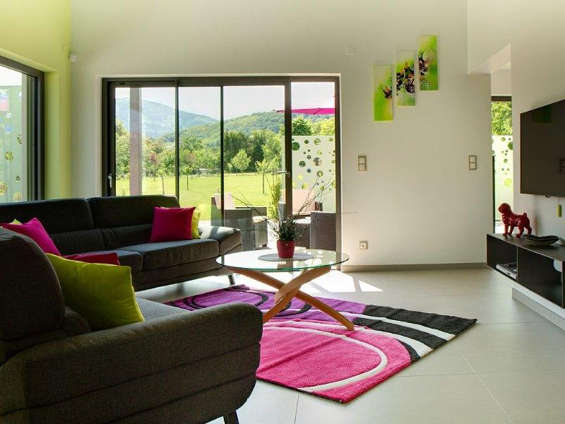 Villa de charme  4 km OBERNAI, location de vacances à Bernardswiller