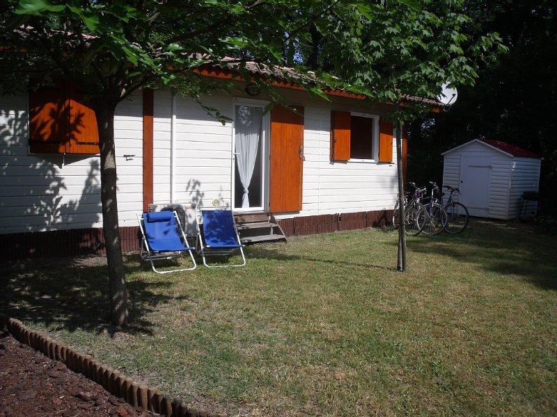 Agréable et confortable chalet situé Sur Le Bassin D'Arcachon, vacation rental in Lanton