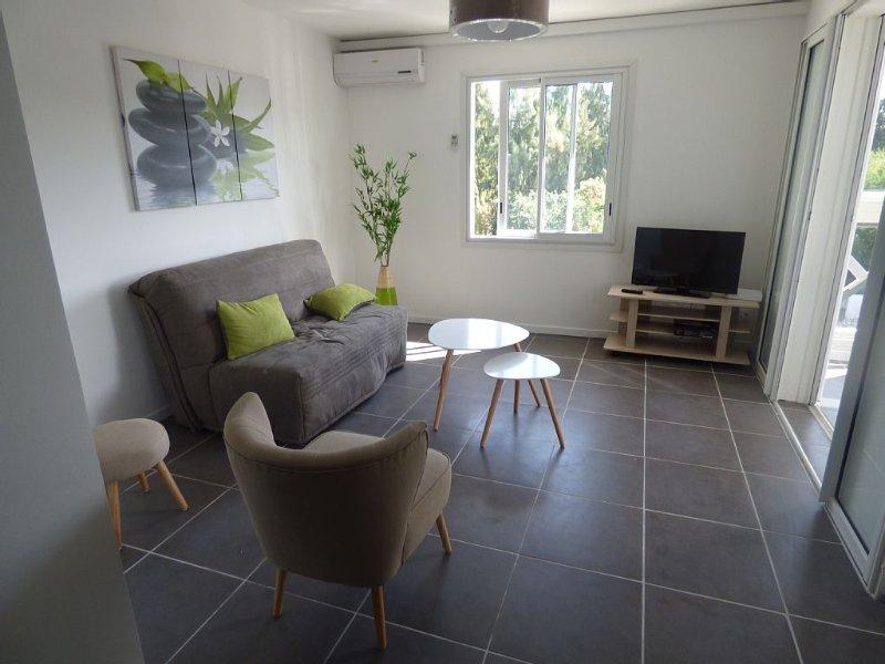 Appartement de standing à 200 mètres de la plage, location de vacances à Arrondissement de Saint-Paul