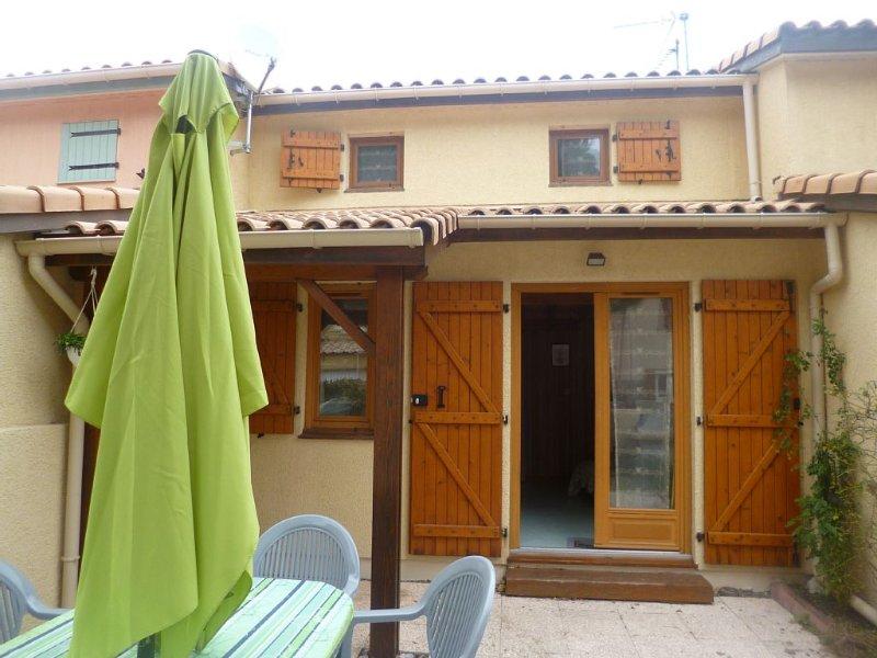 Location villa à 800 métres de la plage à St Pierre la Mer, alquiler vacacional en Salles d'Aude