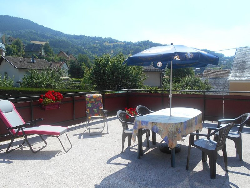 APPARTEMENT 2 PIECES AVEC GRANDE TERRASSE A FRELAND, holiday rental in Aubure