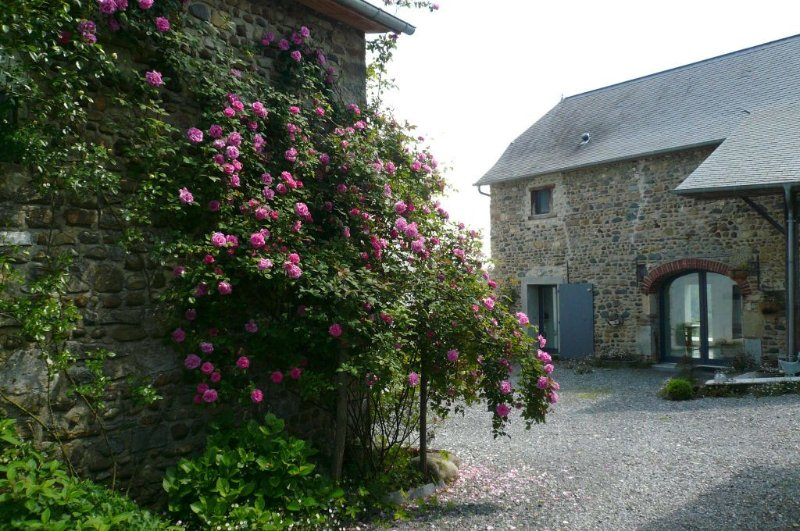 entrance to the gîte