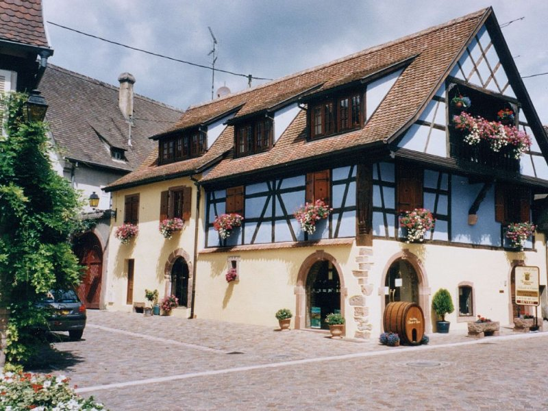 KIENTZHEIM GRAND GITE DE CHARME SITUE AU CENTRE DU VILLAGE., holiday rental in Kaysersberg-Vignoble