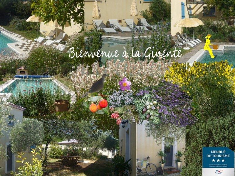 Appartement  indépendant dans une villa Uzès Pont du Gard, alquiler vacacional en Collias