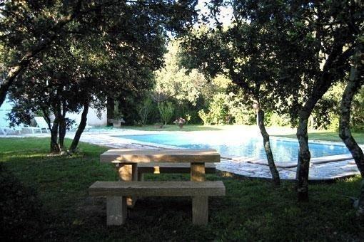 Villa tranquille St Siffret 10mn d' Uzes, holiday rental in Flaux