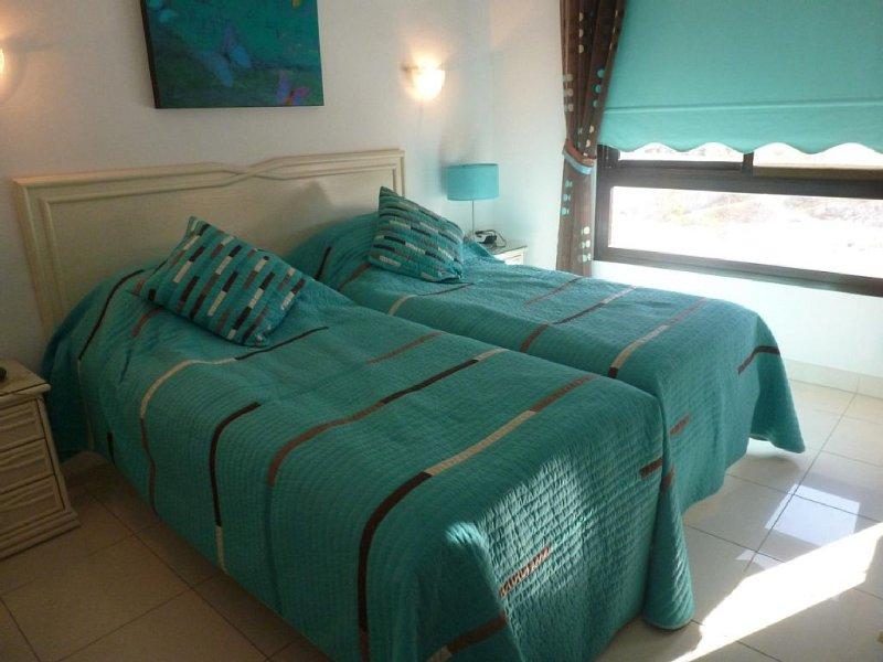 Bel appartement spacieux - vue mer et montagne - centre-ville - 1 km de la plage, holiday rental in Los Cristianos