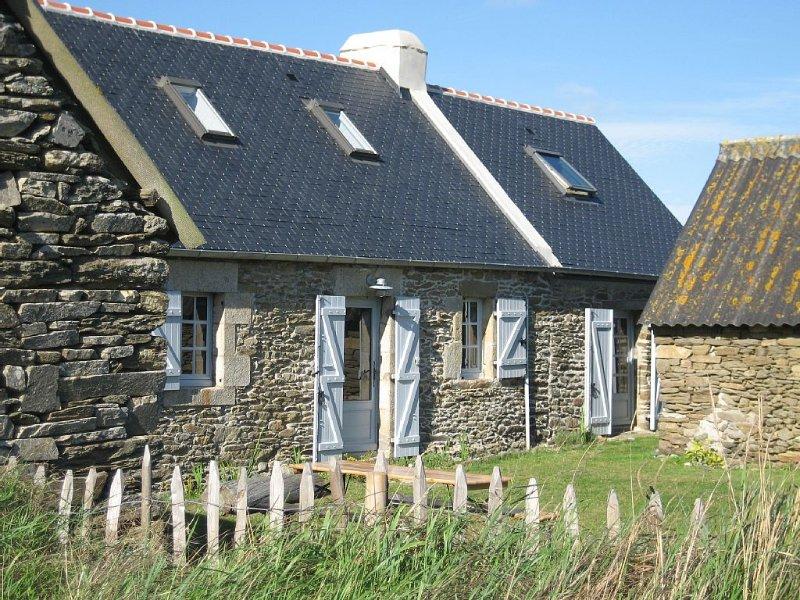 La campagne à la mer, une maison de charme récemment rénovée, location de vacances à Saint-Jean-Trolimon