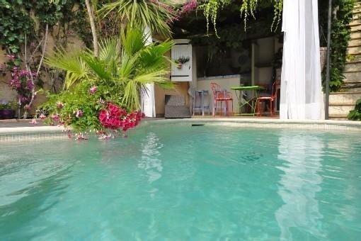 Villa de vacances avec piscine chauffée sécurisée, alquiler de vacaciones en Cagnes-sur-Mer