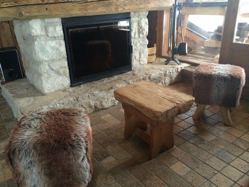 Duplex standing 9 p dans chalet authentique - Station village La Plagne, holiday rental in Champagny-en-Vanoise