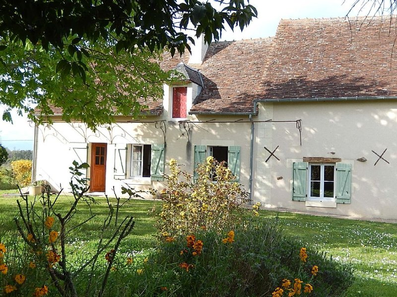 Gîte -- Farmhouse Cottage – semesterbostad i Les Ormes