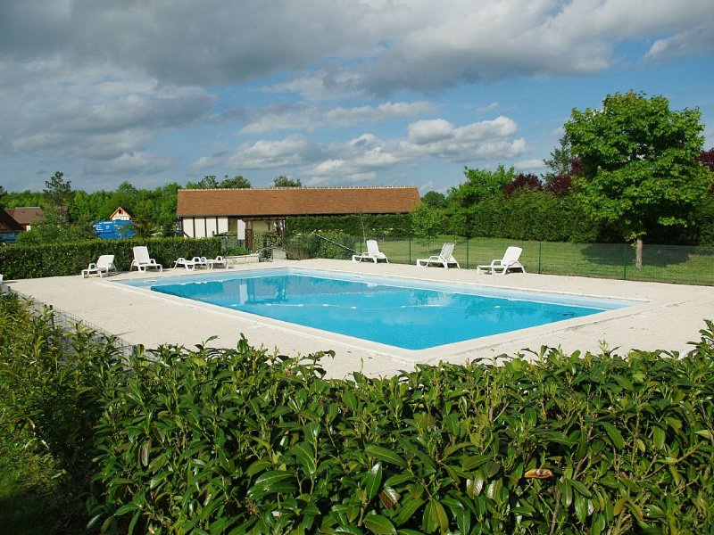 chalet  accessible handicapés, piscine, tennis partagés, barbecue, terrasse, vacation rental in Loir-et-Cher