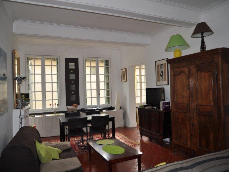 Uzès centre-ville appartement 74 m2, lumineux, avec Box Internet et wifi, vacation rental in Uzes
