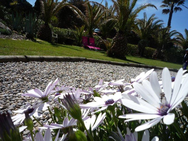 Garden studio for 4 people. Peninsula Giens- beac, location de vacances à Hyères