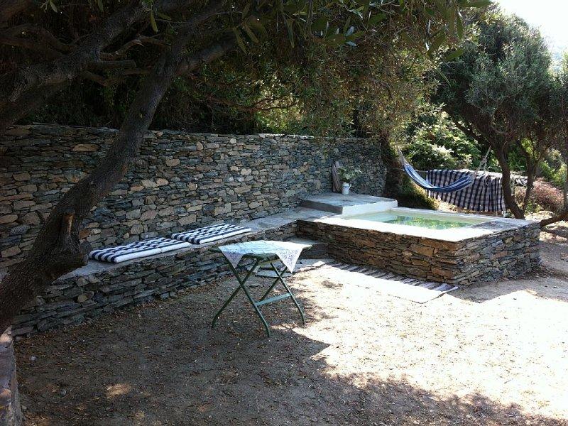 Propriété  de charme au Cap Corse avec vue mer, holiday rental in Macinaggio
