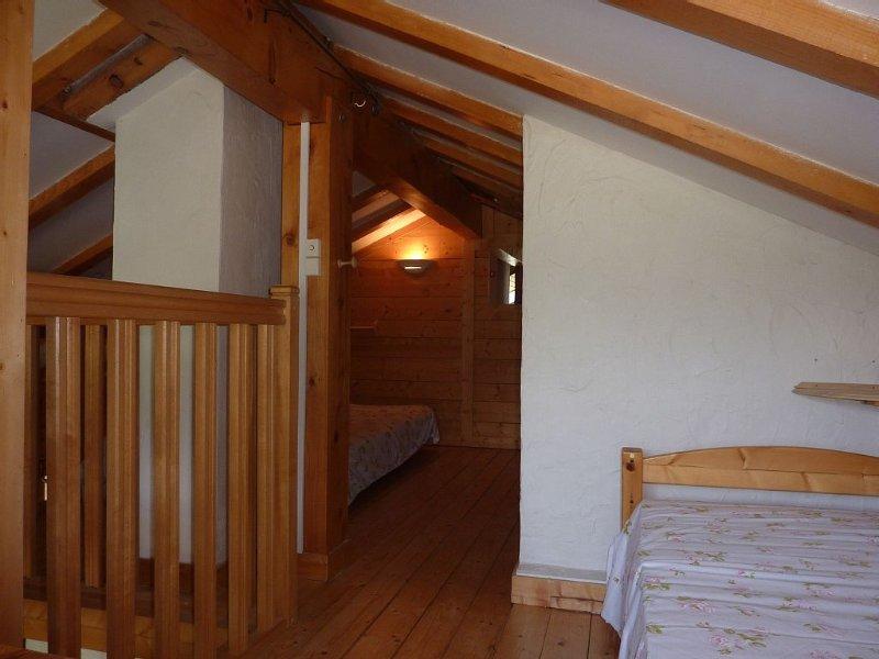 Vue d'ensemble des 2 chambres mezzanine