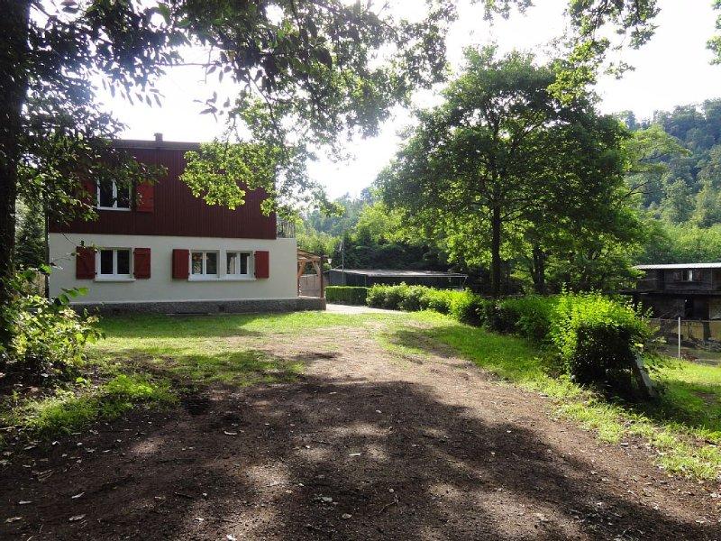 Spacieuse Maison Au Coeur des Vosges du Nord. Vue sur Etangs et Spa Privatif., holiday rental in Petersbach