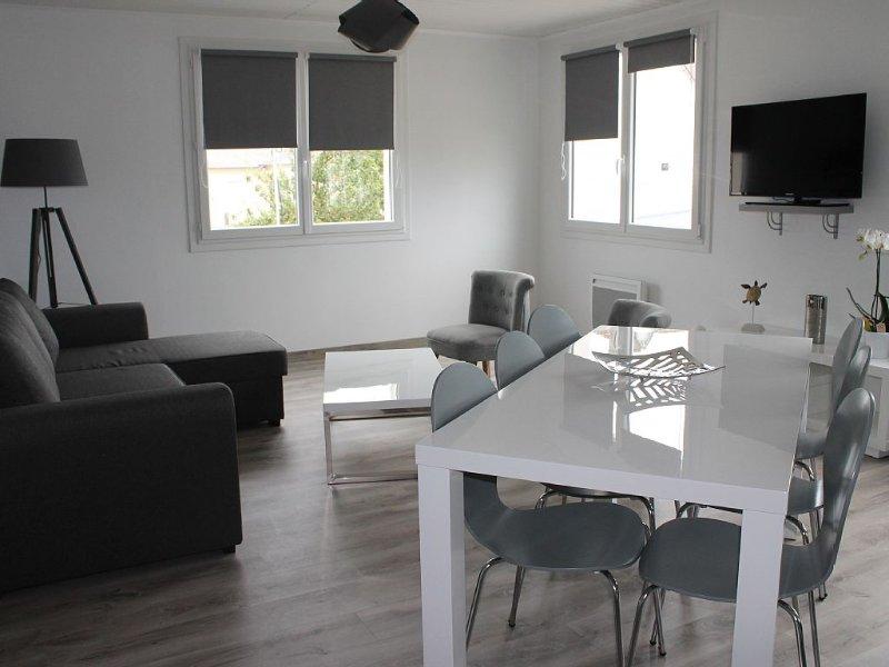 Bel Appartement Moderne proche de la plage du sillon à Saint-Malo T3 80M2, alquiler vacacional en Ille-et-Vilaine