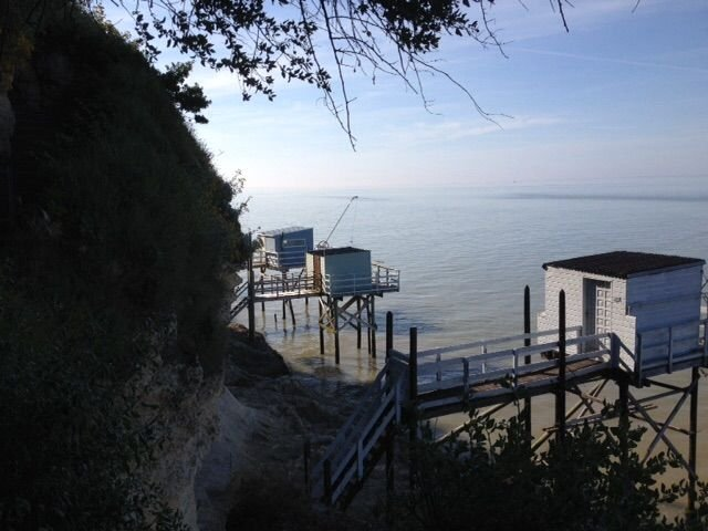 Quiet house in a green ideally situated on the cliff, vacation rental in Meschers-sur-Gironde
